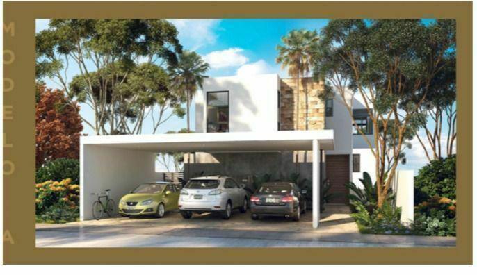 Preciosas casas Privada Aminadah, Modelo A en Temozón