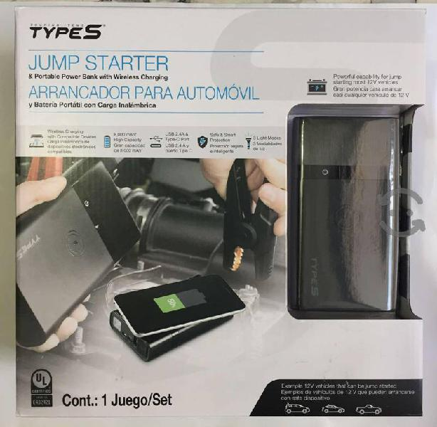 TYPE S arrancador para automóvil y batería, nuevo