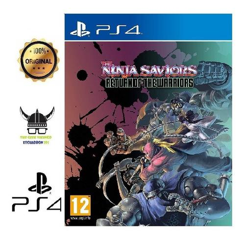 The Ninja Saviors - Return Of The Warriors Ps4 Juego Nuevo