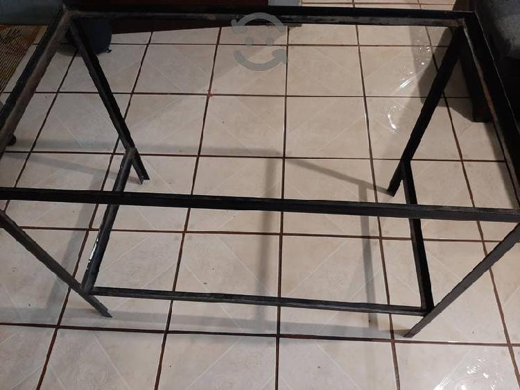 base de metal para mesa, pesera o escritorio