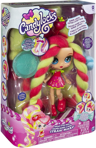 Candylocks Muñeca Lujo ¡cabello De Algodón De Azúcar!