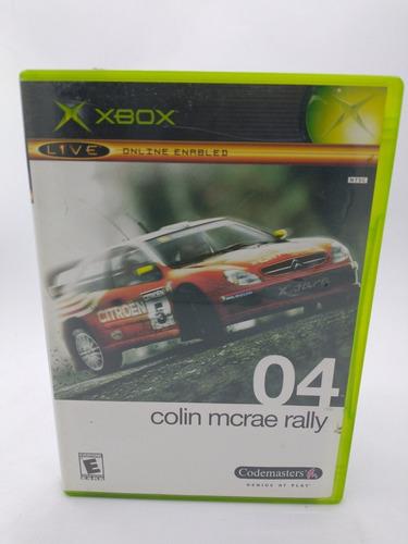 04 Collin Mcrae Rally Xbox Clásico En Gordito