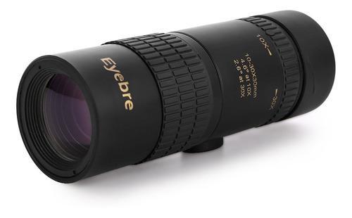 10-30x30 Zoomable Monocular Telescopio Compacto Para Pájaro