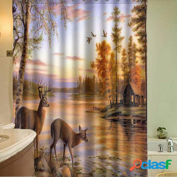 59''x70 '' impermeable a prueba de agua de poliéster Deer