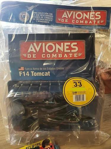 Aviones De Combate #34 F 14 Tomcat Salvat