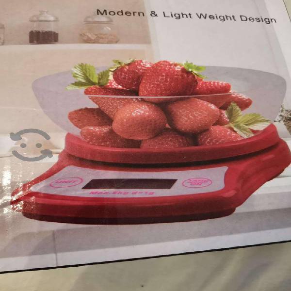 Bascula digital con tazon es gramera hasta 5 kilos