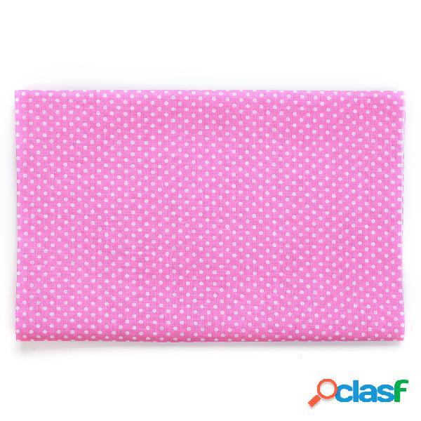 Colorful Dot 7 Conjunto de acolchado cuadrado de tela de