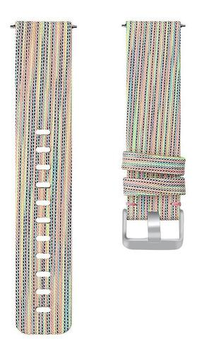 Correa De Muñeca Smart Watch Band Denim Lona Correa De Relo