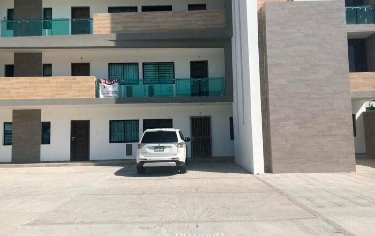 Departamento planta baja en venta en Palos Prietos Mazatlán