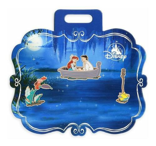 Disney Pin Set The Little Mermaid Kiss The Girl Ariel