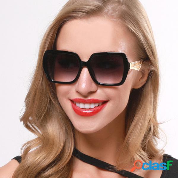 Fashion Big Caja Nuevas gafas de sol Contraste Gafas de sol