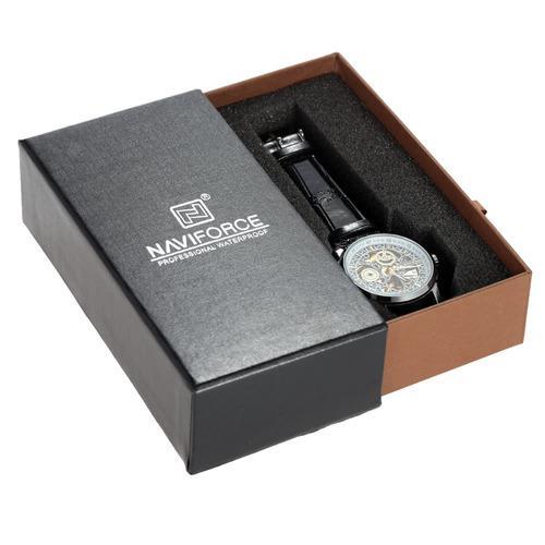 Hermosa Caja De Reloj Con Cajones Deslizantes