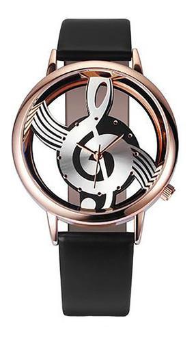 Las Mujeres De La Moda Relojes Nota Música Notación Cuero
