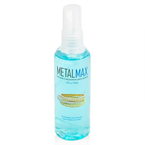Metal Max 100 Ml. Limpiador De Joyería Para Oro Y Plata