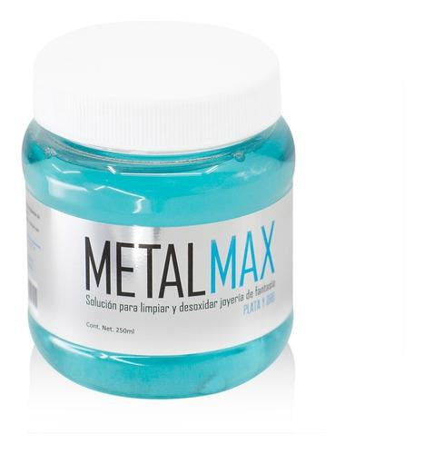 Metal Max 250 Ml. Limpiador De Joyería Para Oro Y Plata