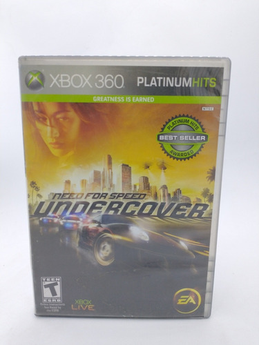 Need For Speed Undercover Xbox 360 Gordito Coleccionables