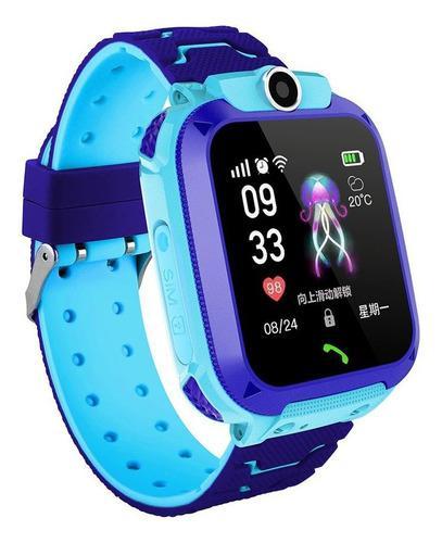 Q12 Reloj Inteligente Niños Digital Gps Reloj De Pulsera