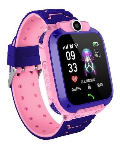 Q12 Reloj Inteligente Niños Digital Gps Reloj De Pulsera No