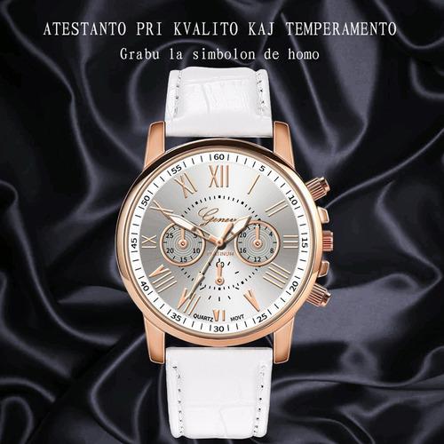 Reloj De Pulsera Analógico De Cuarzo Para Mujer, Correa De