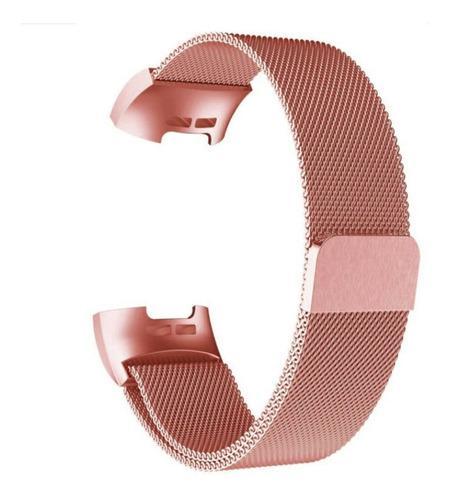 Reloj Inteligente Con Correa De Metal Magnética De Milán P