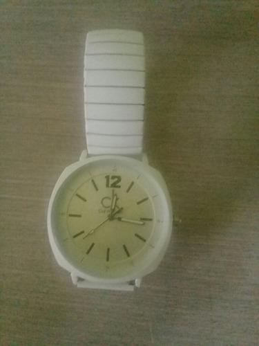 Reloj Tipo Pulsera, Correa Metálica Elastica Ajustable