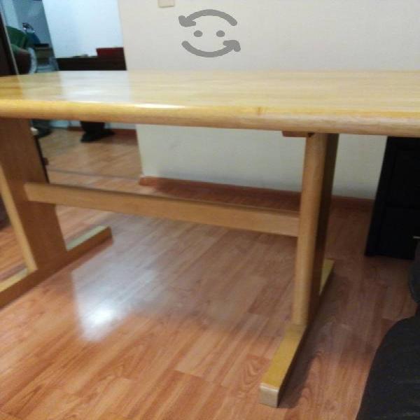 bonita mesa de madera de ceiba incluyo flete