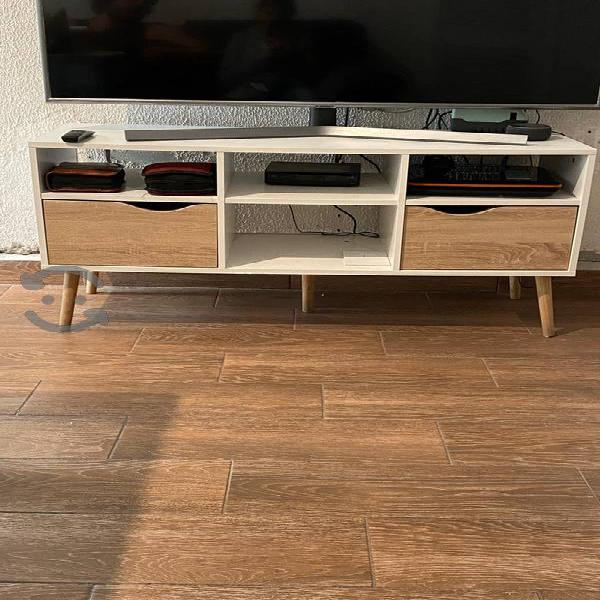 mueble multiusos de madera