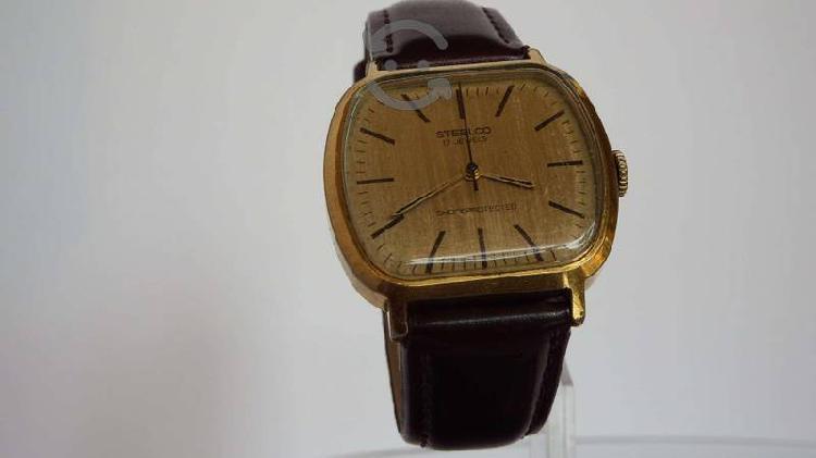 Excelente reloj mecánico marca steelco 17 joyas