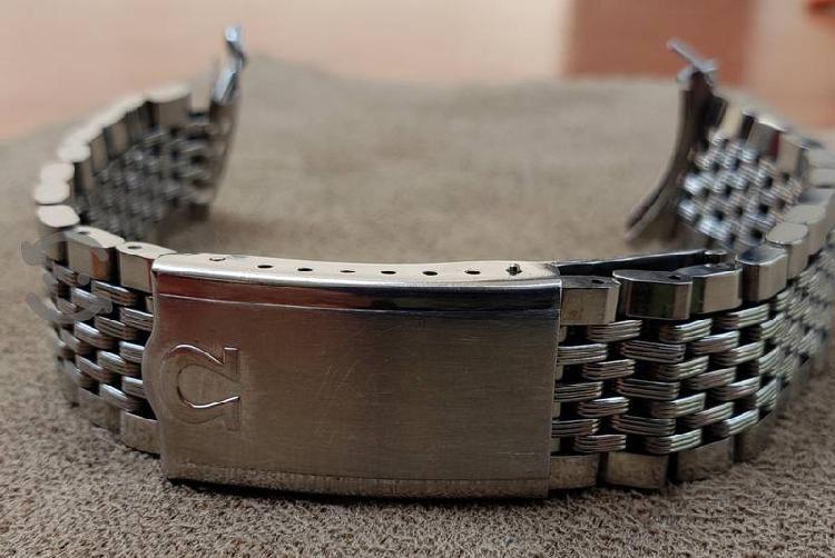 Extencible de Acero para Reloj Omega Seamaster
