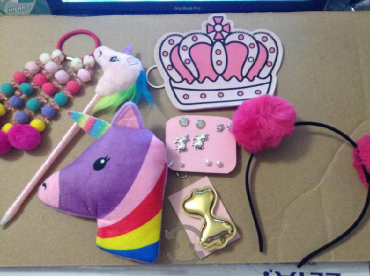Hermoso Paquete De Unicornio y HermososAccesorios