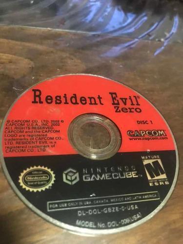 Juego De Resident Evil Zero Para Game Cube