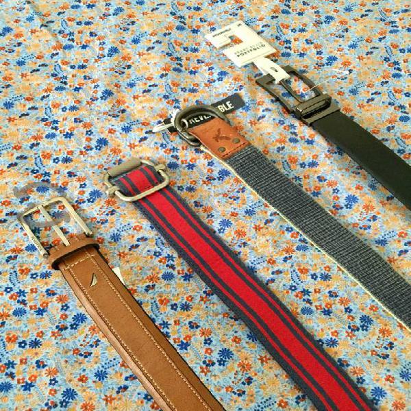 Originales Cinturones de Caballero