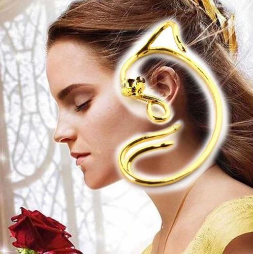 Par Pendiente Orejas Emma Watson Pelicula Bella Y La Bestia
