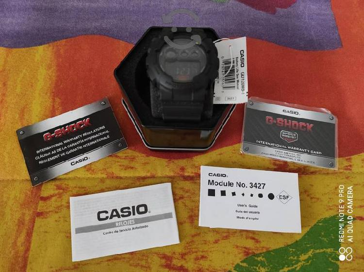 Reloj G Shock Modelo: GD120MB-1 Nuevo