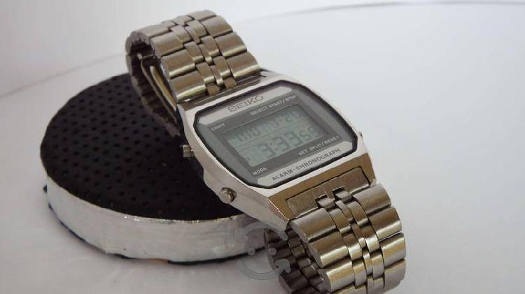 Reloj Seiko Digital Original unisex años 80