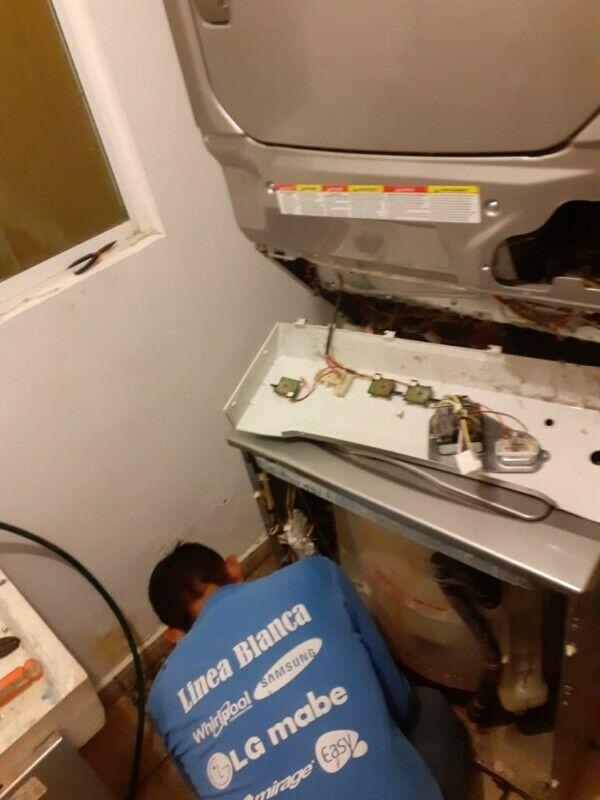 Reparación de lavadoras automáticas, de doble tina,