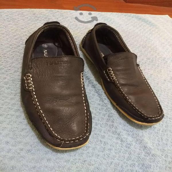 Zapatos Nautica Mocasín.Seminuevos! Azul (7.5)