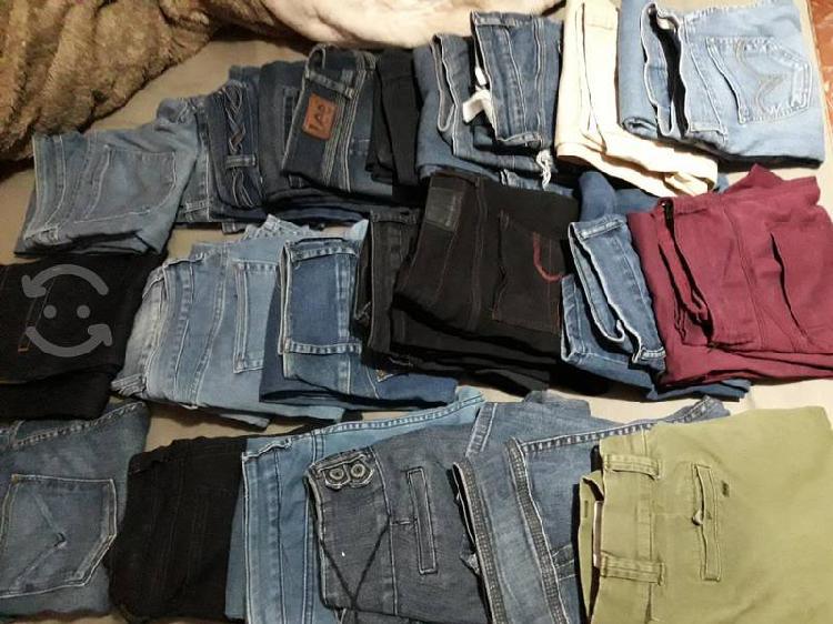 lote de 23 pantalones tallas entre la 5 y la 9