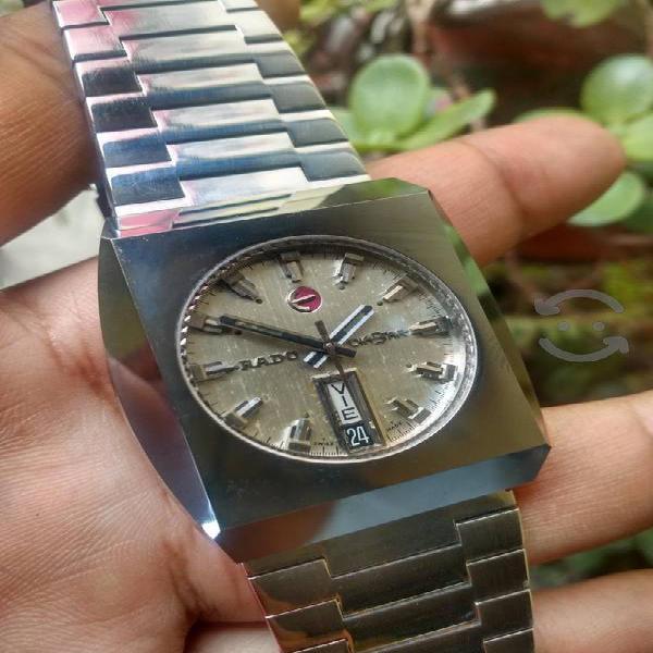 reloj Rado Diastar tugsteno Automático Vintage
