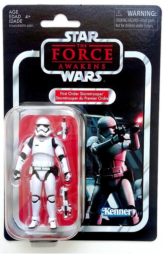 First Order Stormtrooper 118 Star Wars Vintage Collection