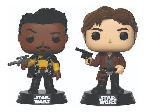 Funko Pop Star Wars Lando Calrissian 240 Han Solo 238 Oferta