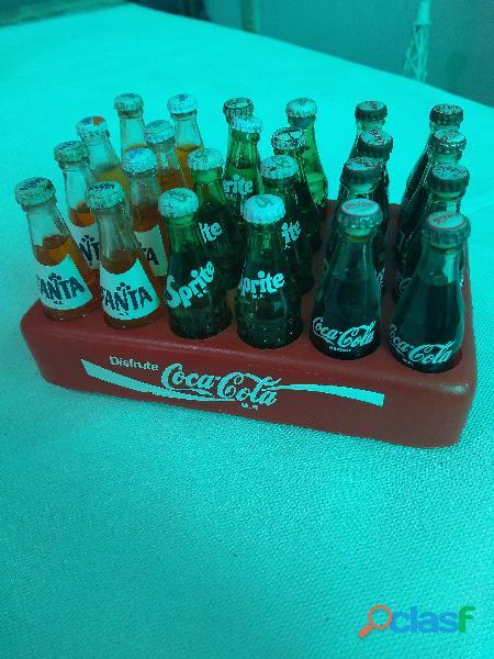 Regita De Botellitas Coca Cola de los 80 s