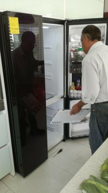 Reparación y mantenimiento de refrigeradores y línea