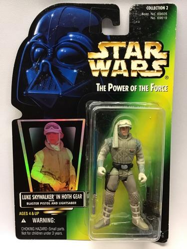 Star Wars Power Of The Force Gold Luke Skywalker Hoth