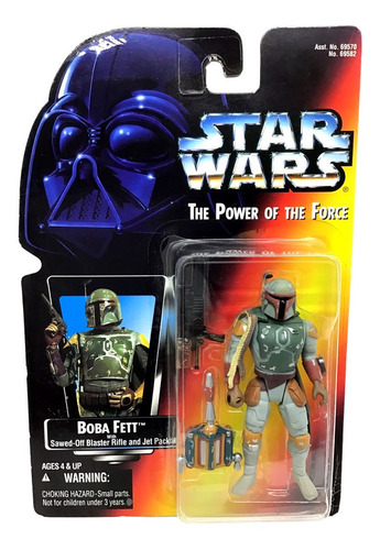 Star Wars Power Of The Force Red Boba Fett