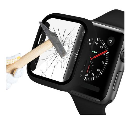 Protector Case Cristal Templado Apple Watch Series