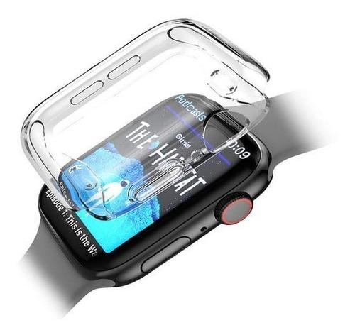 Protector Case Mica Transparente Apple Watch Series