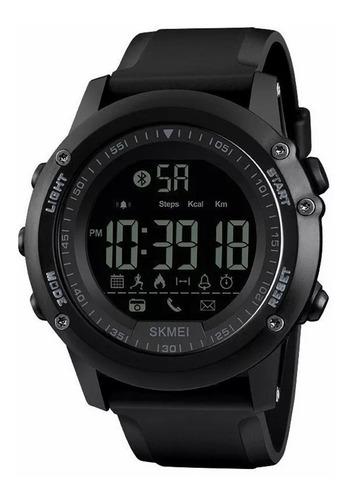 Reloj Smartwatch Hombre Sport Bluetooth Digital - Negro