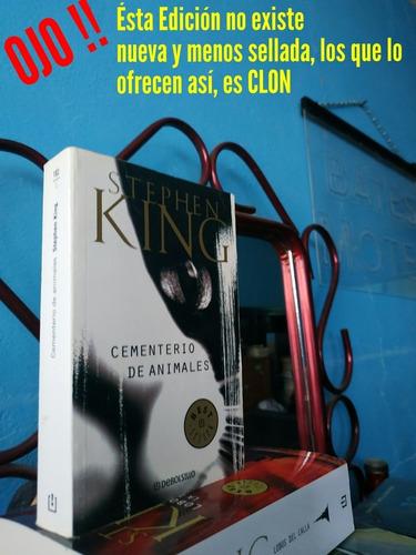 Cementerio De Animales Stephen King Ojo !!lee La