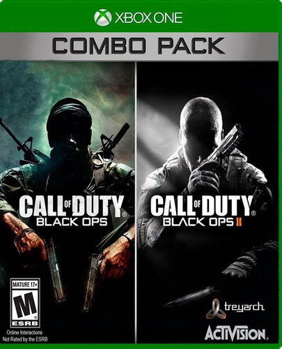 ..:: Call Of Duty Black Ops 1 & 2::.. Xbox 360/one Combo Gc